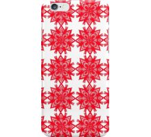 Red Mandala iPhone Case/Skin