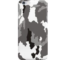 Camouflage pattern iPhone Case/Skin