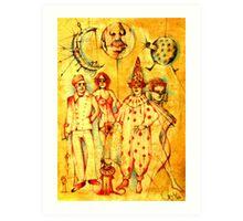 Lunatic Lovers Art Print