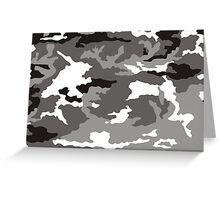 Camouflage pattern Greeting Card