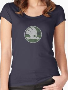 Old Skoda Women's Fitted Scoop T-Shirt