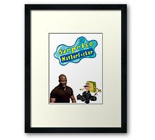 Surprise Motherf*cker Spongebob Framed Print