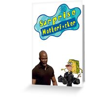 Surprise Motherf*cker Spongebob Greeting Card