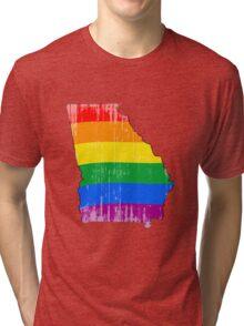 Georgia Pride Tri-blend T-Shirt