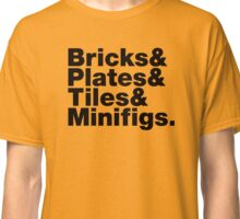 Brick Steez: Bricks&... (On Light Colors) Classic T-Shirt