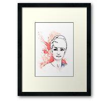 Audrey#10 Framed Print