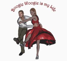 Boogie Woogie is my life by roadart