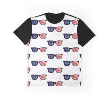Patriotic Sunglasses Graphic T-Shirt