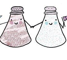 salt and pepper go together by Lauren Hughes