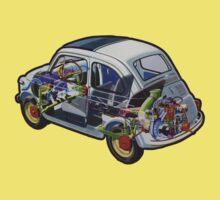 Fiat 500 - 1957 by edskimo8