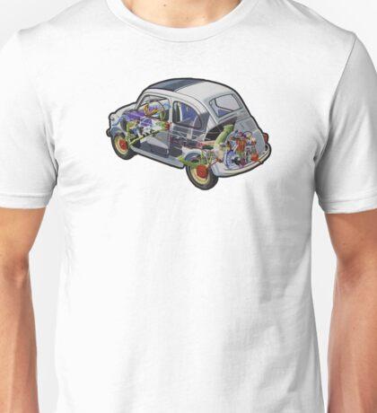 Fiat 500 - 1957 Unisex T-Shirt