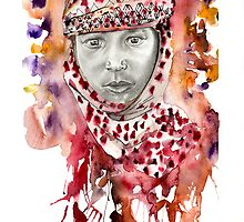 Little Bedouin Boy by PointElement