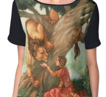 Beauty and the Beast Chiffon Top