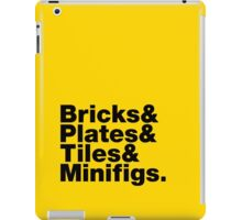 Brick Steez: Bricks&... (On Light Colors) iPad Case/Skin