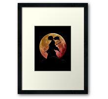 Kenshin into the Dark Framed Print