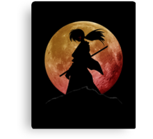 Kenshin into the Dark Canvas Print