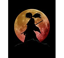 Kenshin into the Dark Photographic Print
