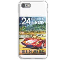 LeMans 62 iPhone Case/Skin