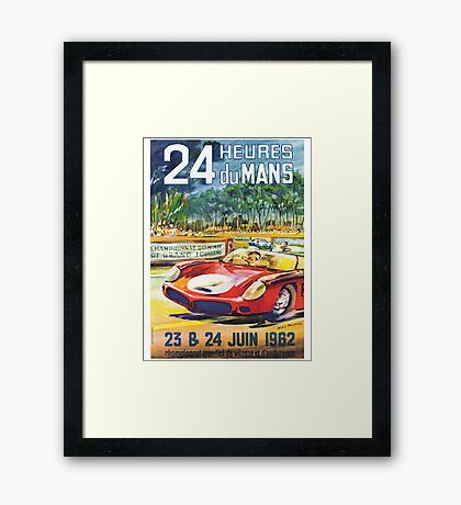 LeMans 62 Framed Print