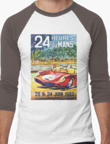 LeMans 62 Men's Baseball ¾ T-Shirt