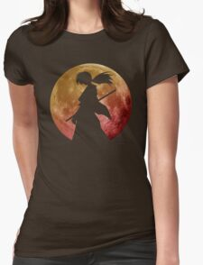 Kenshin into the Dark Womens Fitted T-Shirt