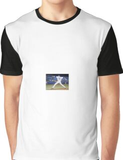 Aaron Pitching Graphic T-Shirt