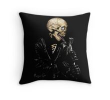 ROCK n SKULL  Throw Pillow
