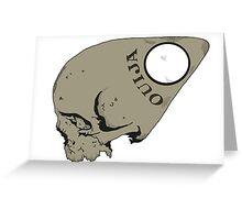 Ouija Skull Greeting Card