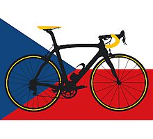 Bike Flag Czech Republic (Big - Highlight) Photographic Print