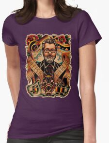 Mike Pike Portrait Womens Fitted T-Shirt