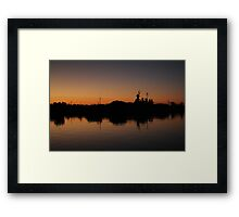 Reflection On The River Framed Print
