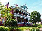 Former Green Roof Inn by Susan S. Kline