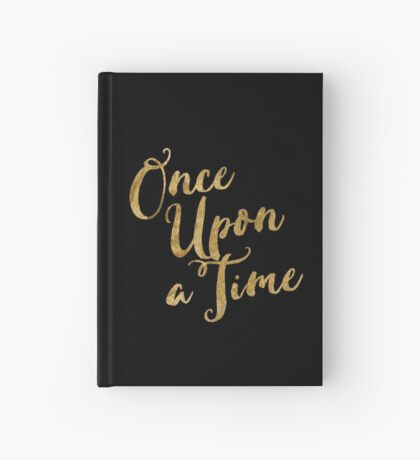 Golden Look Once Upon a Time Hardcover Journal