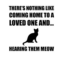 Loved One Meow Photographic Print