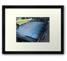 Mirror Hood Framed Print
