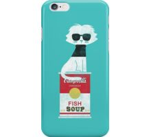 The cat loves Andy Warhol iPhone Case/Skin