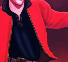 Elvis Presley 4 Painting Sticker