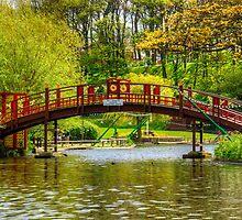 Peasholm Park Bridge by Tom Gomez