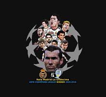 Hala Madrid, La Undecima UEFA Champion League 2015-2016 Unisex T-Shirt