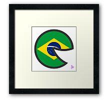 Brazil Smile Framed Print