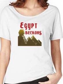 Ancient Egypt Beckons Women's Relaxed Fit T-Shirt