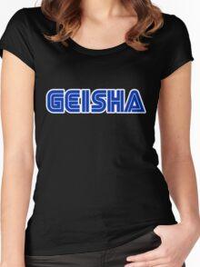 GEISHA - SEGA  Women's Fitted Scoop T-Shirt