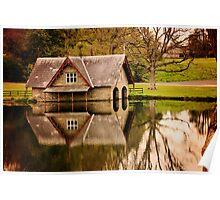 Carton House Boathouse Poster