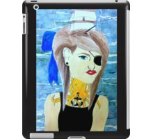 girl with boat in her hair iPad Case/Skin