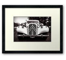 Classic Citroen Framed Print