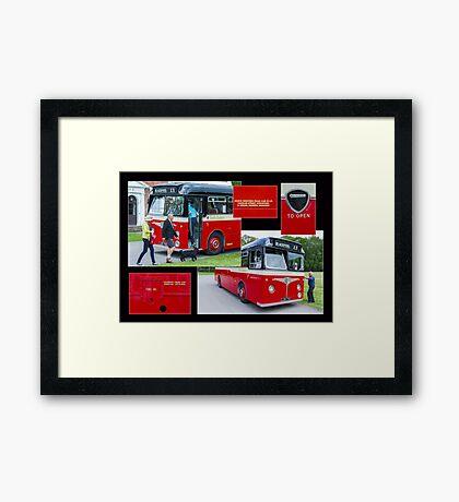 Blackpool X9 Framed Print