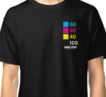 CMYK: ORCA BLACK Classic T-Shirt