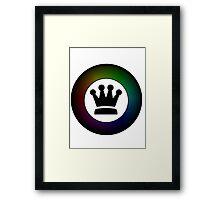 King's Crown Framed Print