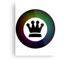King's Crown Metal Print
