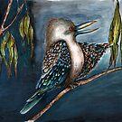 'Ha' said the kookaburra by Jenny Wood